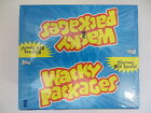 WACKY PACKAGES SERIES 6 MEGA FACTORY SEALED HOBBY BOX