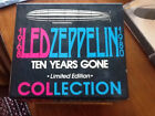 Led Zeppelin Ten Years Gone 10 CD box set-Tickets from Cancelled Chicago Concert