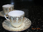 ENGLISH CHINA - RARE Adderley Cups and Saucers-Over 60 years old
