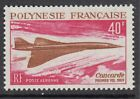 AIRCRAFT1969 FRENCH POLYNESIA Concorde First Flight SG93 MNH
