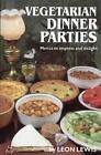 Vegetarian Dinner Parties Leon Lewis Free Range SIGNED Good Paperback