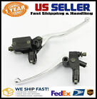 Hydraulic Honda Rebel 250 450 CMX250 Brake Master Cylinder with Clutch Perch