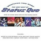 Status Quo : Whatever You Want: The Very Best of Stat CD FREE Shipping, Save £s