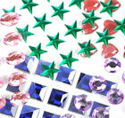 Stick On Rhinestones Self Adhesive Crystals Gems Jewels Multi Colors Sticker Lot