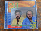HANSEL & RAUL 20 EXITOS ORIGINALES 2 DISC SET SUPER RARE 20 GREATEST HITS BEST