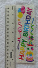 Sandylion HAPPY BIRTHDAY PARTY Stickers of Cake Balloons Confetti Hats RETIRED