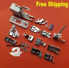 Lot Of 15 Presser Foot Feet Domestic Sewing Machine For Brother Singer Janome