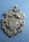 Edwardian Sterling Silver Fob Medal / Pendant 1905 William Adams - not engraved
