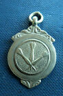 Vintage Sterling Silver Darts Fob Medal 1938 William Adams  -  not engraved