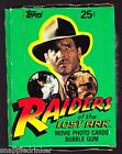 1981 Topps Raiders of the Lost Ark Box of 36 Unopened Packs