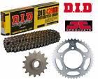 Hyosung GA125 Cruise II De Luxe 99-01 DID Motorcycle Chain and Sprocket Kit