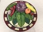 Large Hand Painted Fruit and Vegetable Ceramic 3D Serving Platter 17