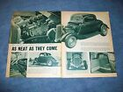 1933 Ford 3-Window Coupe Hot Rod Vintage Article
