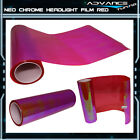 2 Pc 12 X 24 Inch Headlight Neo Chrome Film Laminate - Most Popular Color