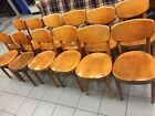 Set of 6 Mid Century Bentwood Danish Modern Thonet Dining Chairs