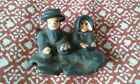 Small Cast Iron Amish Figures Antique replacement for wagon