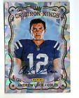 ANDREW LUCK 2012 PANINI CRACKED ICE AUTOGRAPH AUTO ROOKIE RC CARD LIMITED TO 5!