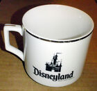 DISNEYLAND Coffee Mug Castle Souvenir Cup Walt Disney World Productions Original