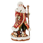 NEW Fitz and Floyd Beautiful Holiday Santa Figure Pheasant Partridge Woodland