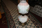 Vintage Victorian Style Gone With The Wind Lamp GWTW Lion Face Globes Flowers