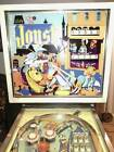 JOUST PINBALL Machine Bally 1968 EM Rare Working 100% Zipper Flippers Medieval