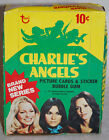 1977 CHARLIE'S ANGELS Topps Wax Box with 36 Wax Packs, 4th series