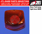 REAR TAIL LIGHT LENS BACK BRAKE LAMP LENS to suit HONDA CM125 C CUSTOM CM125T