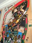 Used Judge Dredd Pinball Playfield Not NOS Or New. Restore Or Use As Is.