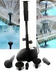 Submersible Waterfall Pond Pool Fountain Pump W Filter