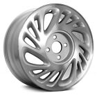 For Saturn SL1 98 99 Alloy Factory Wheel 15x6 16 Slot Machined w Light Silver
