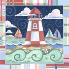 Madras Lighthouse by Jennifer Brinley Graphic Art on Wrapped Canvas