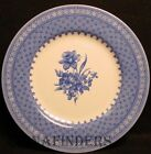 CHURCHILL china OUT OF THE BLUE pattern Salad or Dessert Plate - 8-1/2