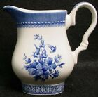 CHURCHILL china OUT OF THE BLUE pattern Creamer, Cream Pitcher or Jug - 3-1/2