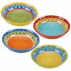 Certified International Valencia 9.25-inch Soup/Pasta Bowls (Set of 4) Assorted