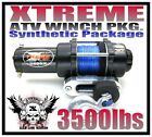 3500LB VENOM UTV WINCH KIT 2008-Current KUBOTA RTV500 & RTV400 Ci 3500 LB
