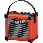 Roland MICRO CUBE GX Red Battery AC Powered Ultra compact Guitar Amp  New