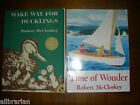 Make Way for Ducklings Time of Wonder Robert McCloskey Five in a Row FIAR vol 2
