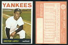 (43052) 1964 Topps 325 Hector Lopez Yankees-EX+