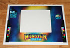 Williams MONSTER BASH Pinball Machine COIN DOOR DECAL