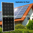 160W Watts Monocrystalline Solar Panel 12Volt for Home Power RV Battery Charge