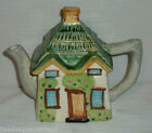 Ucagco Teapot House Cottage Figural Small Japan 7