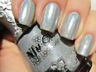 NFU Oh #61 ~ SILVER HOLO Holographic Nail Polish Lacquer RARE Made in France!!!