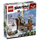 LEGO Angry Birds Piggy Pirate Ship TOY SET 75825, Kids BUILDING TOY LEGO SET