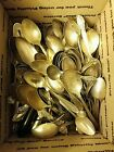 Vintage Silverplate HUGE Lot 120 pcs Silverware Restaurant Crafts Jewelry Hobby