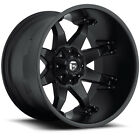 Fuel D509 Octane 20x12 5x1397 5x150 44mm Matte Black Wheels Rims