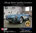 Chevrolet Corvette 60 corvette cv convertible horizon blue blue interior white coves soft top