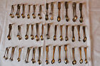 38 Vintage Silver Plated EPNS SUGAR TONGS Large Job Lot - Tea Shop Wedding