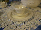 WEDGEWOOD CHINA VERY OLD/1800's CUP/SAUCER/SALAD PLATE