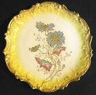 Antique Victorian Ornate Scallop Coiffe Limoges Display Plate Charger 1891-1914