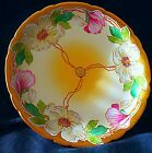 RARE J.P. LIMOGES DECORATIVE PLATE HAND PAINTED STOUFFER STUDIOS FLORAL